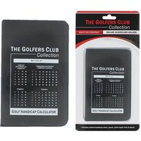 Golfers Club Deluxe Score Card Holder