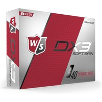 Wilson Staff DX3 Soft Golf Balls Dozen