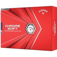 Callaway Chrome Soft Golf Balls New 2020 Multibuy x 3