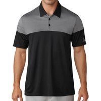 Adidas Heather 3-stripes Polo Shirts