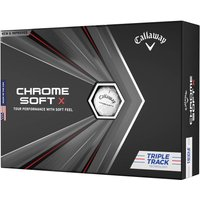 Callaway Chrome Soft X Triple Track Golf Balls Multibuy x 3