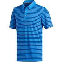 Adidas Climachill Three Colour Stripe Polo