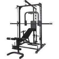 Multi Smith Machine met Fitnessbank