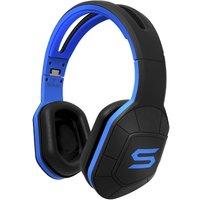 Soul Combat+ Over-ear sporthoofdtelefoon--headset, Blauw, Zwart