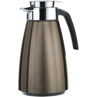 Emsa BELL Isolierkanne Quick Tip, Chocolate metallic, 1,5 L Thermoskan