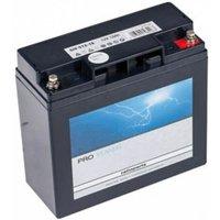 AGM Starterbatterie 12V 18Ah befüllt +Pol rechts LC-X1220P