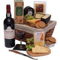 Luxury Port & Cheese Hamper