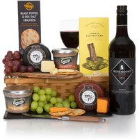 Wine Cheese & Pate Christmas Hamper