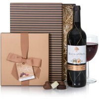 Red Wine & Chocolates Christmas Gift