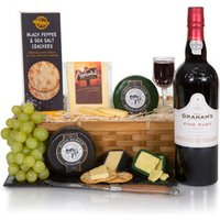 Luxury Port & Cheese Christmas Hamper