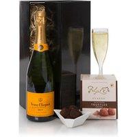Veuve Clicquot Champagne & Truffles Gift Set