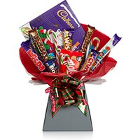 Romantic Hearts Chocolate Bouquet