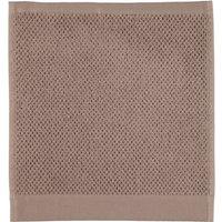 Rhomtuft - Handtücher Baronesse - Farbe: taupe - 58 Seiflappen 30x30 cm