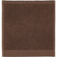 Rhomtuft - Handtücher Baronesse - Farbe: mocca - 406 Seiflappen 30x30 cm