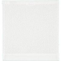 Rhomtuft - Handtücher Baronesse - Farbe: weiß - 01 Seiflappen 30x30 cm