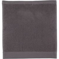 Rhomtuft - Handtücher Baronesse - Farbe: zinn - 02 Seiflappen 30x30 cm