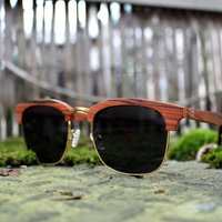 Rosewood Clubmaster Sunglasses - SG60 image