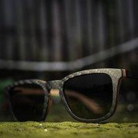 Carbon Fiber & Wood Sunglasses By Paul Ven - SG28 image