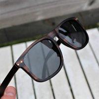 Paul Ven Wood Flat Top Sunglasses - SG51 image