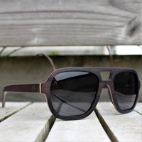 Wooden Sunglasses Aviator Style Sunglasses By Paul Ven - SG48 image