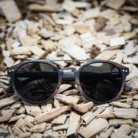 Ebony Wood | Round Style | Wood Sunglasses