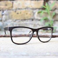 Wood Glasses Frame | Wayfarer Wood Eyewear - SG43 image