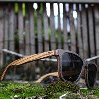 Stone & Zebra Wood Sunglasses - SG17 image