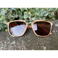 Luxury Real Wood Olive Burl Sunglasses