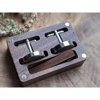 Wooden Cuff Link 19 - CLK19 image