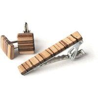 Wooden Cuff Link 03 - CLK03 image