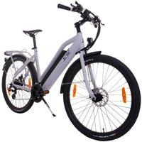 LLOBE E-Bike Trekking »E-Urban Voga Bianco«, 27,5 Zoll, 21 Gang, 499 Wh