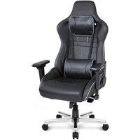 AKRacing Gaming Stuhl AKRACING Master Pro Deluxe schwarz »schwarz«