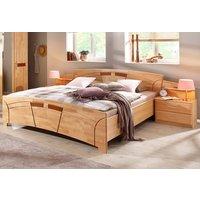 home affaire Home Schlafzimmer-Set »Sarah«, (Set, 3-tlg), Set: Bett + Nachttische