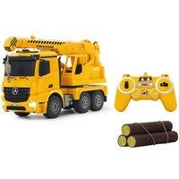 Jamara RC-Truck »Schwerlastkran Mercedes Arocs«, mit Signallichtern*