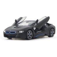 Jamara RC-Auto »BMW i8 40MHz 1:14 schwarz«, mit LED Beleuchtung*