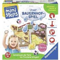 Ravensburger Spiel, »ministeps Unser Bauernhof-Spiel«, mit Steckpuzzle