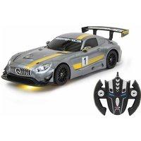 Jamara RC-Fahrzeug »Mercedes AMG GT3 transformable«, 2in1 Roboter und Auto*