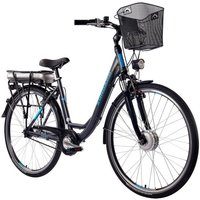 ZÜNDAPP E-Bike City »Green 3.5«, 28 Zoll, 7 Gang, Vorderradmotor, 468 Wh