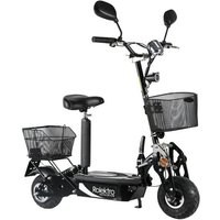 Rolektro E-Scooter »Rolektro eco-Fun 20 V.2 SE, Schwarz«, 500 W, 20 km/h*
