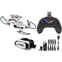 Jamara RC-Drohne »Angle 12 VR Drone Altitude HD«, mit VR-Brille*