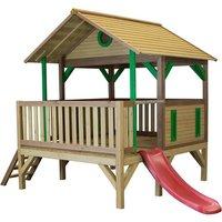 Spielturm Meeko mit Veranda auf garten-schaukeln.de ansehen