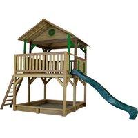 Spielturm Simba mit Sandkasten & Rutsche auf garten-schaukeln.de ansehen