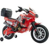 E-Kindermotorrad INJUSA  Dakar 6V Top Case