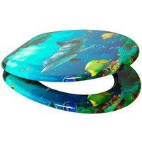 SANILO WC-Sitz »Delphin«, mit Absenkautomatik