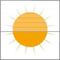 sunlines Plissee nach Maß »Menorca-Blume«, sunlines, Lichtschutz, mit Bohren, verspannt