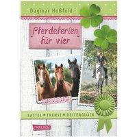 Carlsen Verlag Sattel, Trense, Reiterglück: Pferdeferien für vier