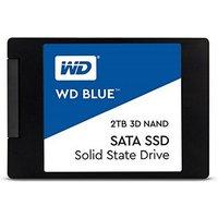 Western Digital Blue SSD 3D NAND 2,5Zoll SATA »Bereit für Ihre High-Performance-Anwendungen«