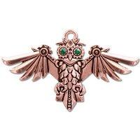 Adelia´s Amulett »Anne Stokes Engineerium Talisman«, Aviamore Eule - Für Freiheit des Geistes