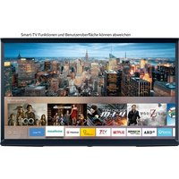 Samsung Serif-TV QE43LS01RB QLED-Fernseher (108 cm/43 Zoll, 4K Ultra HD, Smart-TV, Farbe: Nachtblau)