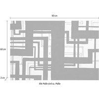 Places of Style Leinwandbild »Linien«